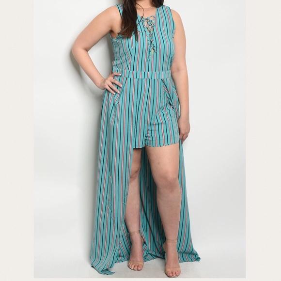 ddd919f9ee16 Ladies Women Plus Size Long Romper Jumpsuit Dress